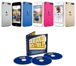 Win a 16GB Apple iPod Touch & signed CD!