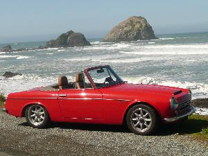 Win a 1966 Datsun Roadster