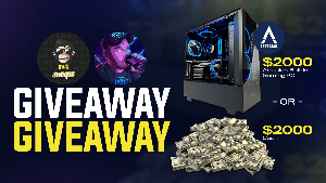 Win a $2,000 Artesian Builds Gaming PC ($2,000 Cash Out Option)