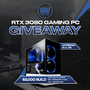 Win a $2,000 RTX 3080 Gaming PC!!