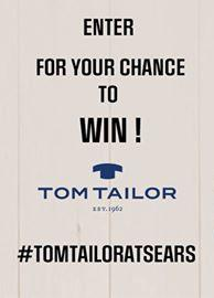 WIN: a $2,000 Tom Tailor Shopping Spree at Sears!