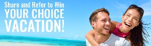 Win a $2,000 YourChoice Vacation Voucher