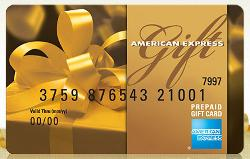 Win a $2,500 American Express Gift Card