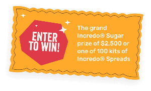 Win a $2,500 Home Depot Gift card or 1 of 100 kits of Indredo Spreads