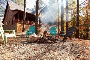 Win a 2-night stay at Blue Beaver Luxury Cabins in Broken Bow.