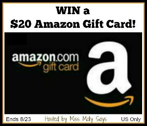 Win a $20 Amazon Gift Card!