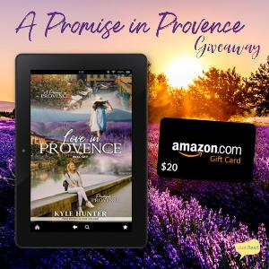 Win a $20 Amazon gift card + Love in Provence series 2-in-1 ebook set!