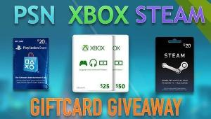 Win a $20 GIFT CARD OF YOUR CHOICE (XBOX, PSN, STEAM)