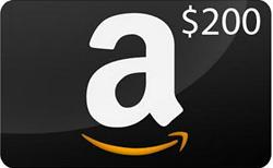 Win a $200 Amazon Gift Card