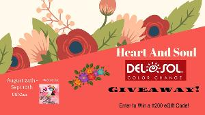 Win a $200 eGift Code to spend at Del Sol!