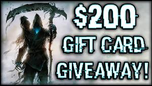 Win a $200 Gift Card of your choice!!