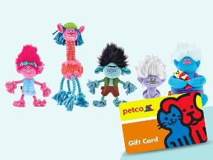 Win a $200 Petco Gift Card and Trolls Pet Fans Collection!