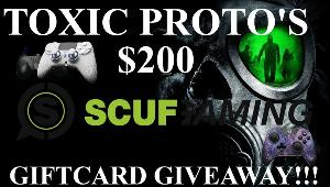 Win a $200 Scuf Gaming Gift Card!!