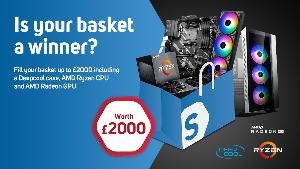 WIN a £2000 shopping cart from Scan.co.uk!