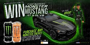 Win a 2016 Ford Mustang!