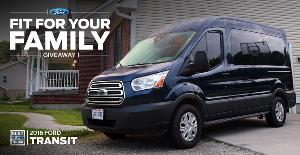 Win a 2016 Ford Transit