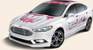 WIN: A 2017 Ford Fusion (ARV $45,000)!