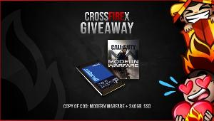 Win a 240 GB SSD (United States Only)- 1 winner; or a Copy of Call of Duty: Modern Warfare (GLOBAL) 1 winner!!