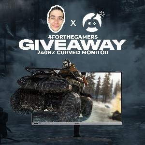 Win a 240Hz Curved Monitor!
