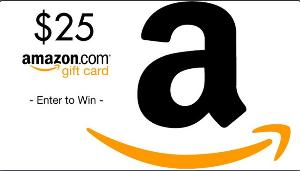 Win a $25 Amazon gift card!!