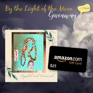 Win a $25 Amazon gift card and a necklace made by the author !