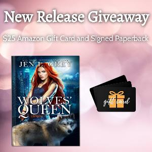 Win a $25 Amazon Gift Card and Signed Wolves' Queen Paperback!