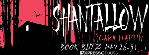 Win a $25 Amazon gift card + signed copy of Shantallow