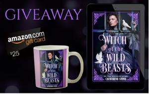 Win A $25 Amazon Gift Card & Witch of the Wild Beasts Mug!!