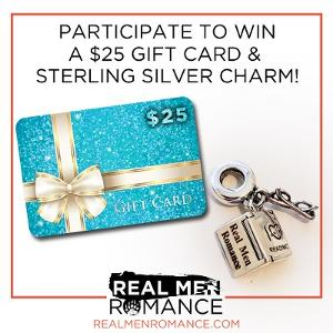 Win a $25 Amazon giftcard & a Sterling Silver Charm!!