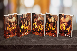 Win a $25 Amazon giftcard and a signed paperback of each book (Mac, Croft, Noah, Reid)!
