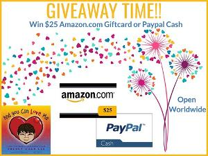 win a $25 Amazon / Paypal