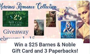 Win a $25 Barnes & Noble Gift Card and 3 Paperbacks!
