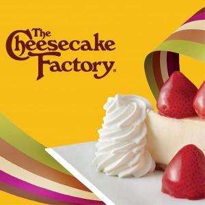 Win a $25 Cheesecake Factory Gift Card