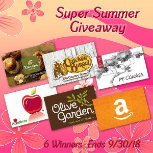 Win a $25 Gift Card of Your Choice