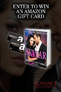 WIN: a $25 or $50 Amazon Gift Card from Bestselling Author Kate Allenton