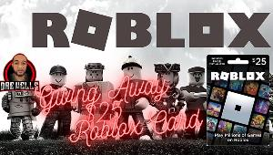 Win a $25 Roblox Gift Card