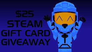 Win a 25$ Steam Gift Card