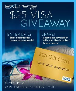 Win a $25 Visa Gift Card from ExtremePools