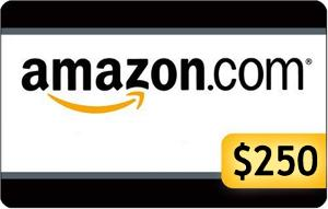 Win a $250 Amazon Giftcard