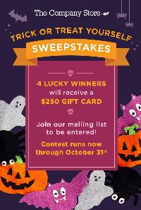 Win a $250 gift card to The Company Store