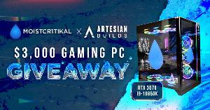 Win a $3,000 RTX 3070 Gaming PC!