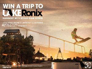 WIN: A 3 day, all-inclusive trip of a lifetime for 2 to Lake Ronix in sunny Florida