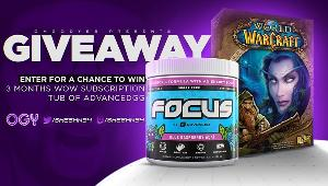 Win a  3 Month WoW Subscription and Tub of AdvancedGG