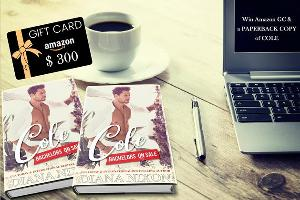 Win a $300 Amazon Gift Card + Paperback of COLE!!