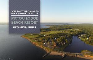 WIN: a $300 Gift Card for Pictou Lodge Beach Resort