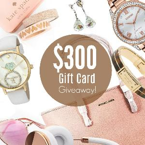 Win a $300 Gift Card To My Gift Stop