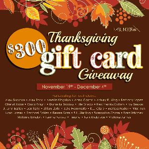 Win a $300 Thanksgiving Amazon Gift Card!!