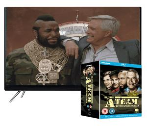 Win a 32in Samsung HD TV plus The A-Team Complete Collection Boxset!