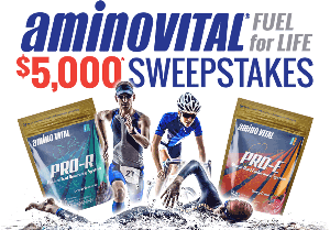 Win a 365 Day Supply of Amino VITAL Nutrition System and $500 Cash