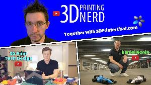 Win a 3D Printer and 5 Rolls of filament
